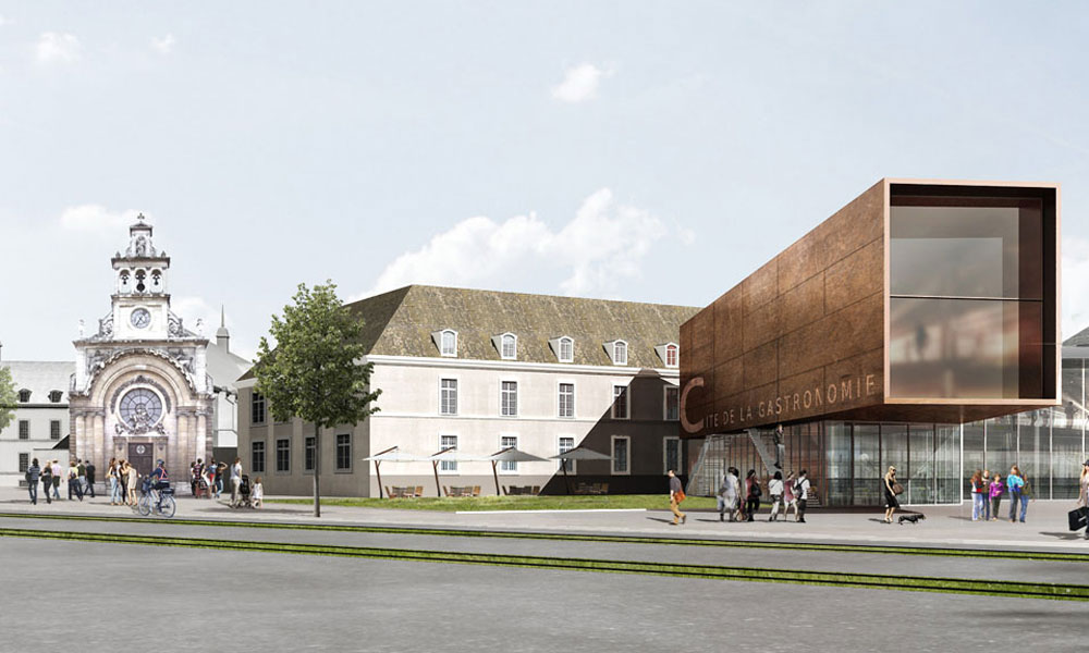 B27 | Fiche projet :  Cité Internationale de la Gastronomie et du Vin, Dijon