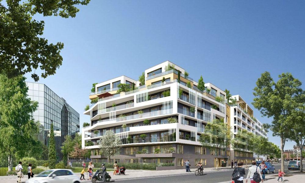 B27 | Logements collectifs, Courbevoie