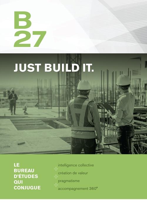 B27 | Plaquette corporate