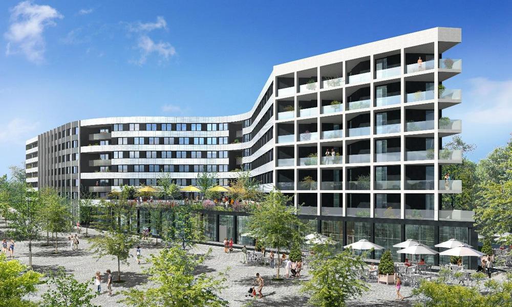 B27 | Résidence hôtelière et étudiante, Palaiseau