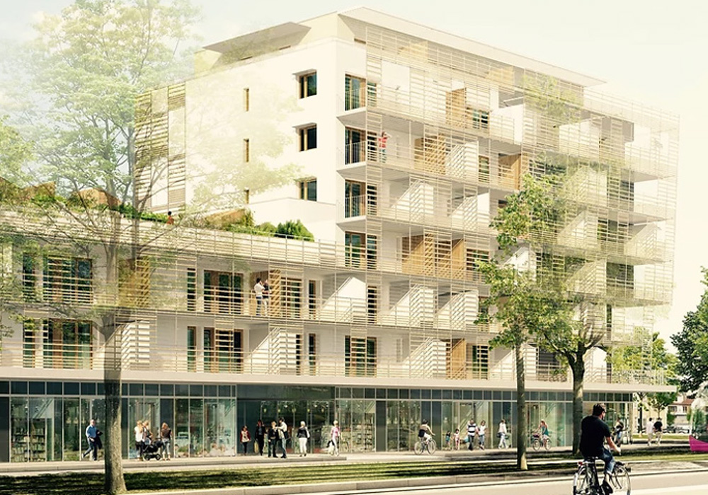 B27 | Fiche projet : Logements Le Drapeau, Dijon