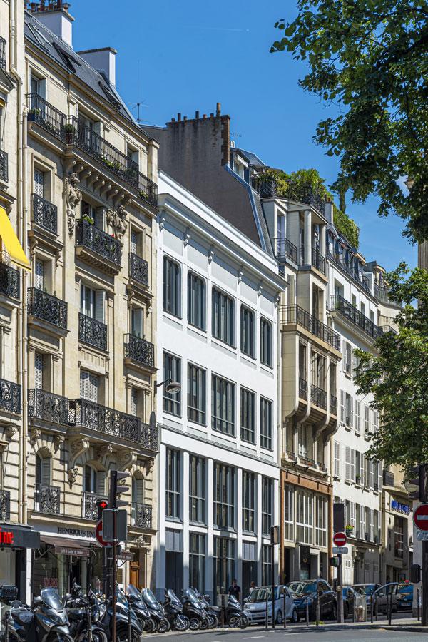 B27 | Fiche projet : Bureaux, Paris