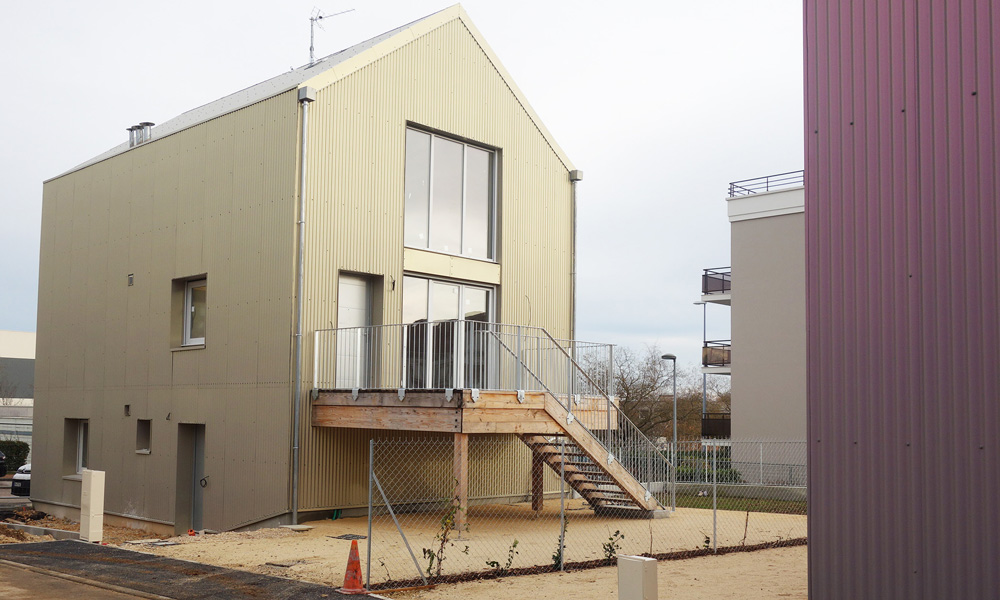 B27 | 40 logements bioclimatiques