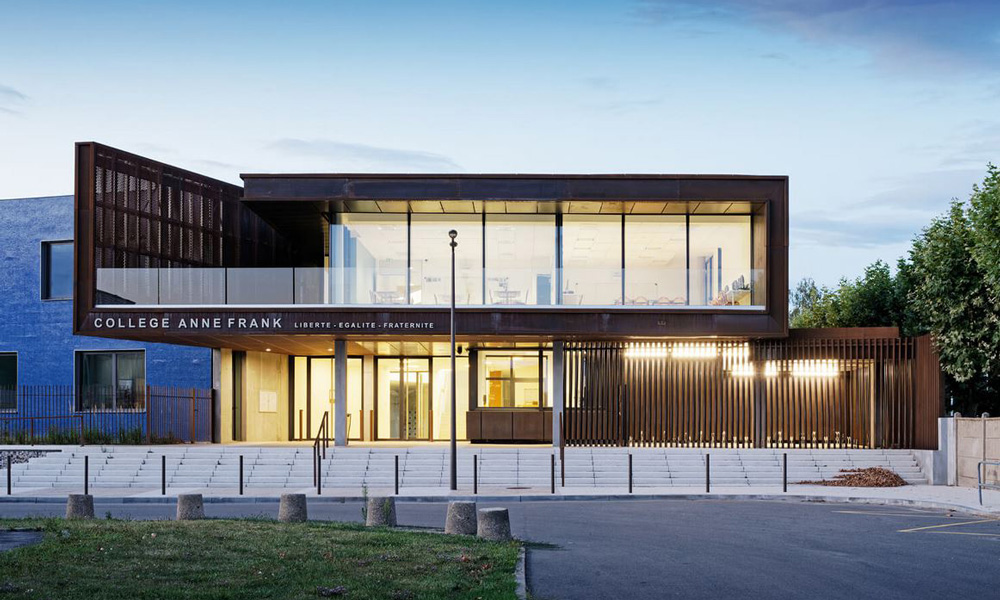 B27 | Fiche projet : Collège Anne Frank