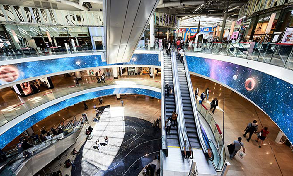 B27 | Fiche projet : Centre commercial Les 4 Temps