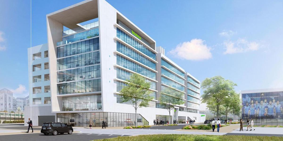 B27 | News : Valeo Innovative Factory : B27 accompagne la réalisation du plus grand site français de l'équipementier