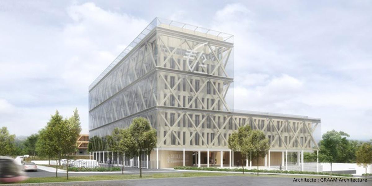 B27 | News : Bâtiment intelligent : B27 pilote la labélisation R2S du siège de la Caisse d'Épargne Dijon