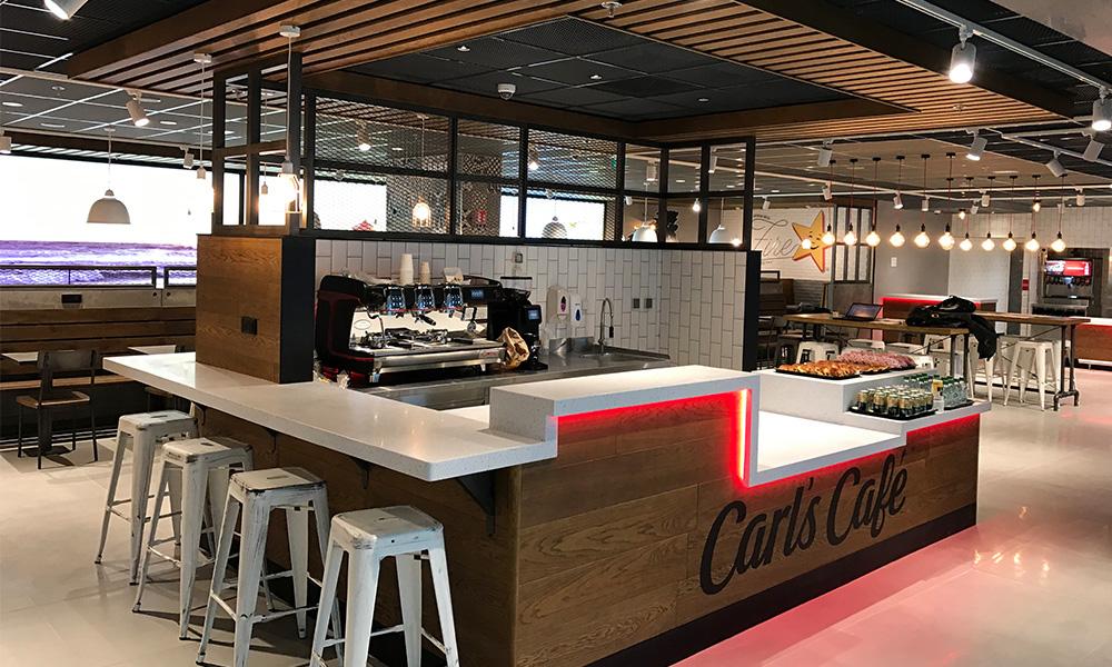 B27 | Fiche projet : Carl's Junior à l'aéroport Roissy CDG à Roissy Charles-de-Gaulle (95)
