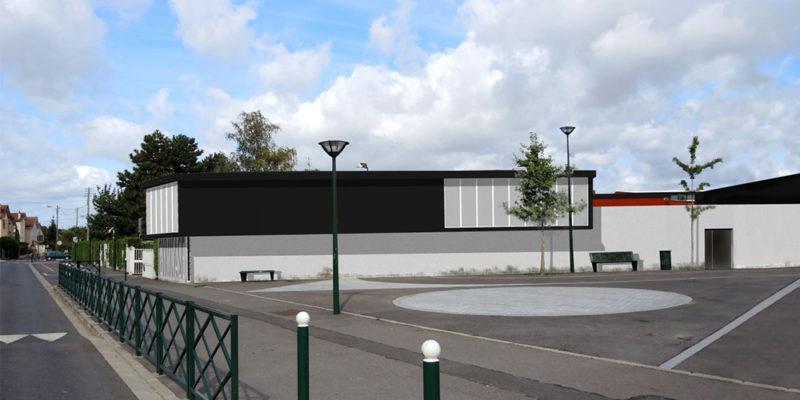 B27   Complexe sportif Jules Ladoumègue à Taverny (95)