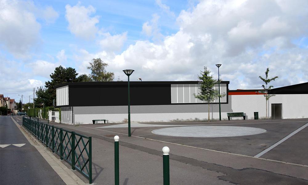 B27 | Complexe sportif Jules Ladoumègue à Taverny (95)
