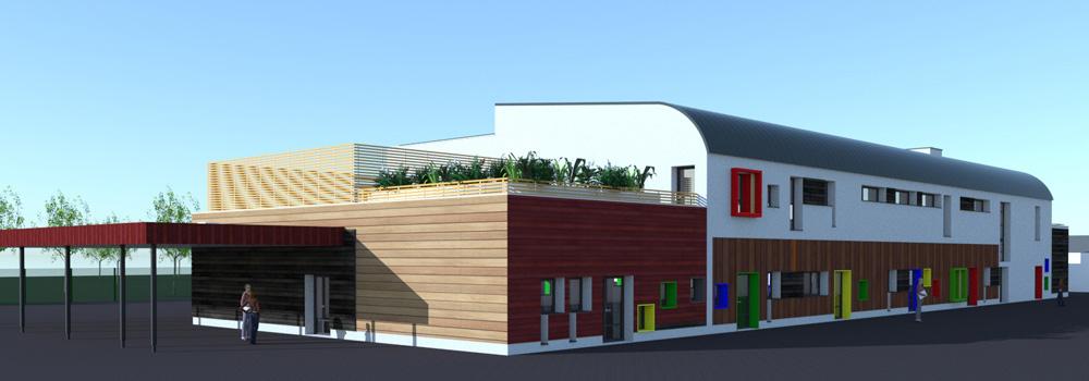 B27 | Fiche projet : École Pablo Neruda à Pontault-Combault (77)