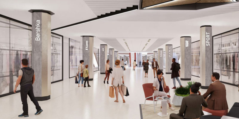 B27 | Centre commercial Les Arcades à Noisy-le-Grand (93)