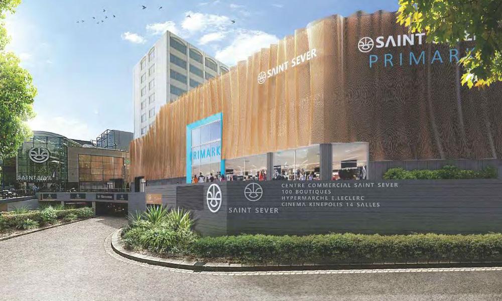 B27 | Fiche projet : Centre commercial St Sever à Rouen (76)
